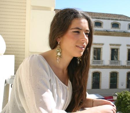 Pendientes Madreperla Ref. 607<br />www.amberluxe.com